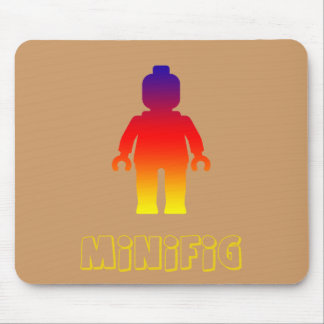 Minifig [Rainbow 2] by Customize My Minifig Mouse Pad