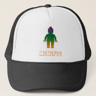 Minifig [Rainbow 3] by Customize My Minifig Trucker Hat