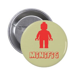Minifig Red by Customize My Minifig Buttons
