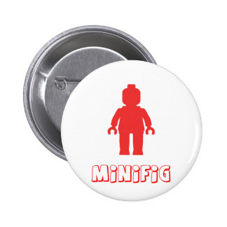 Minifig Red by Customize My Minifig Pin