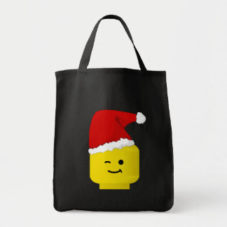 Minifig Santa cerca modifica mi Minifig para requi Bolsa Tela Para La Compra