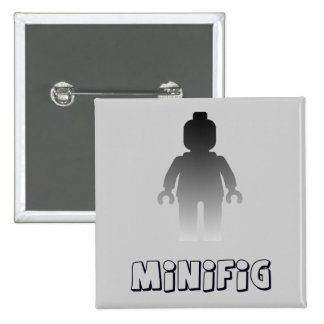 Minifig Silver by Customize My Minifig Buttons
