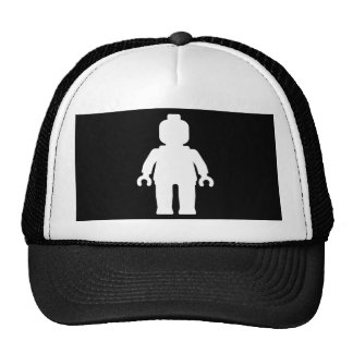 Minifig [White] by Customise My Minifig Trucker Hat