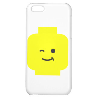 Minifig Winking Head by Customize My Minifig iPhone 5C Cover