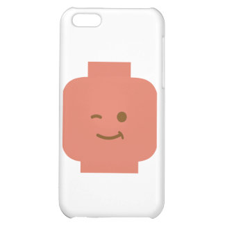 Minifig Winking Head by Customize My Minifig iPhone 5C Case