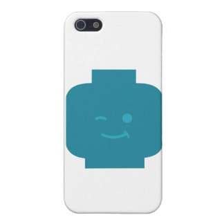 Minifig Winking Head by Customize My Minifig Covers For iPhone 5