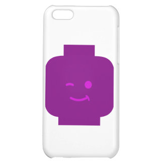 Minifig Winking Head by Customize My Minifig Case For iPhone 5C
