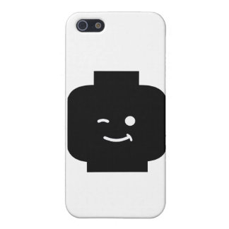 Minifig Winking Head by Customize My Minifig Cover For iPhone 5