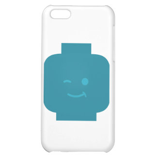 Minifig Winking Head by Customize My Minifig Cover For iPhone 5C