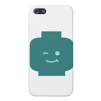 Minifig Winking Head by Customize My Minifig Case For iPhone 5