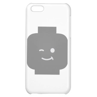Minifig Winking Head by Customize My Minifig iPhone 5C Cases
