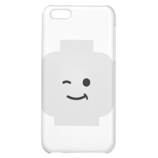 Minifig Winking Head by Customize My Minifig iPhone 5C Covers
