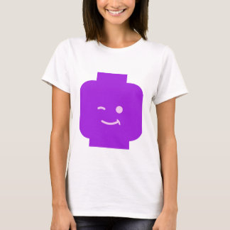 Minifig Winking Head by Customize My Minifig T-Shirt