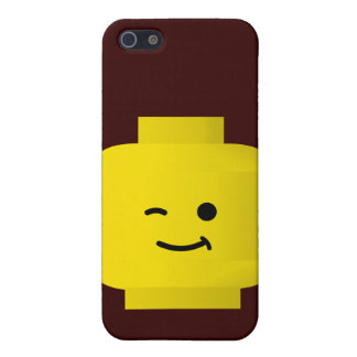 Minifig Winking Head iPhone 5 Case