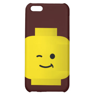 Minifig Winking Head Cover For iPhone 5C