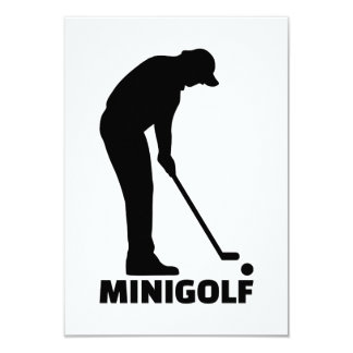 Minigolf Card