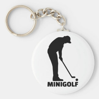 Minigolf Keychain