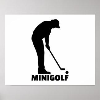 Minigolf Poster