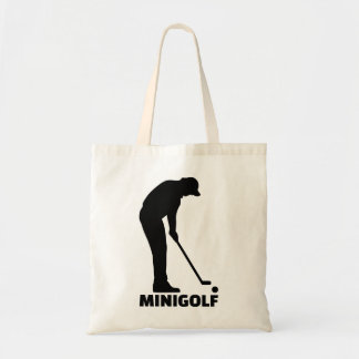 Minigolf Tote Bag