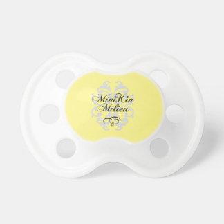 """""""Minikin Milieu"""" Baby Pacifier"""