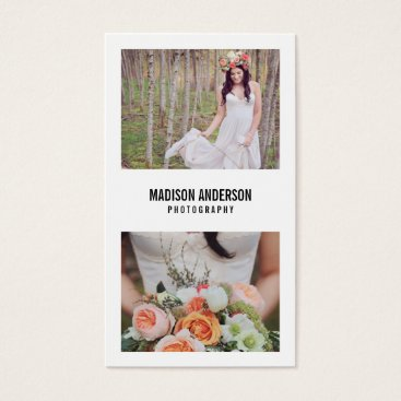 FINEandDANDY Minimal Bold | Photography Business Cards