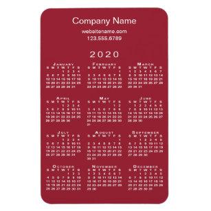 Uf Calendar 2020.Dark Red Calendars Zazzle
