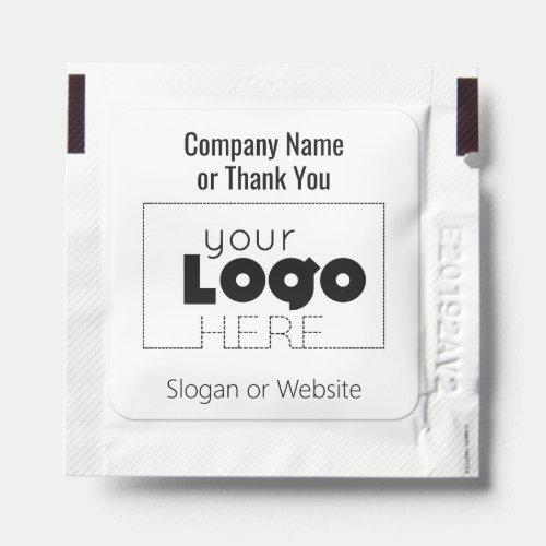 Minimal Business Logo + Text Hand Sanitizer Packet