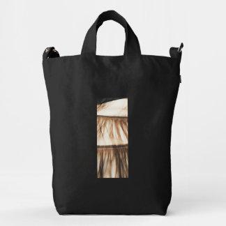 Minimal Chic Grass Skirt Duck Bag