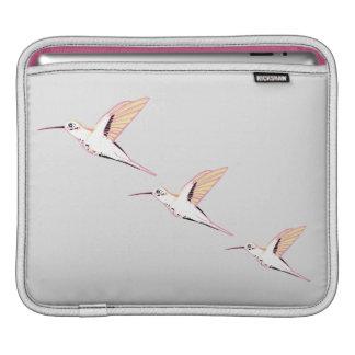 Minimal congregation pink hummingbirds smart chic sleeve for iPads