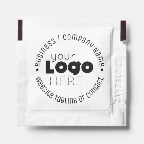 Minimal Custom Business Logo Hand Sanitizer Packet