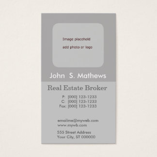 Minimal Design  Add Logo or Photo Personalize IT Business Card