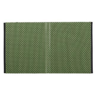 "Minimal Geometric Pattern - Japan ""Bamboo Forest"" iPad Folio Cover"