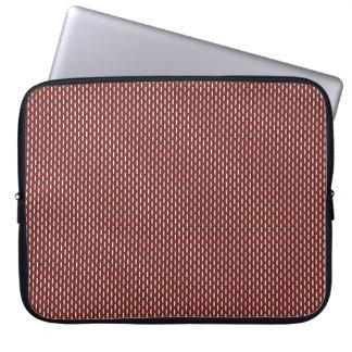 "Minimal Geometric Pattern - Japan ""Cherry Blossom"" Laptop Sleeve"