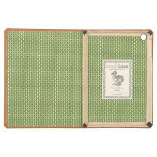 "Minimal Geometric Pattern - Japan ""Green Pastures"" iPad Air Covers"