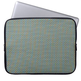 "Minimal Geometric Pattern - Japan ""Hazy Sunshine"" Laptop Computer Sleeves"