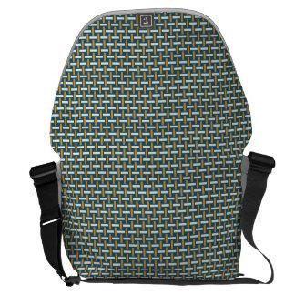 "Minimal Geometric Pattern - Japan ""Hazy Sunshine"" Messenger Bag"
