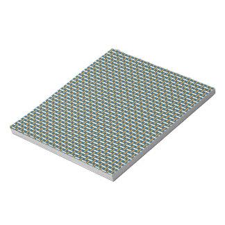 "Minimal Geometric Pattern - Japan ""Hazy Sunshine"" Notepad"