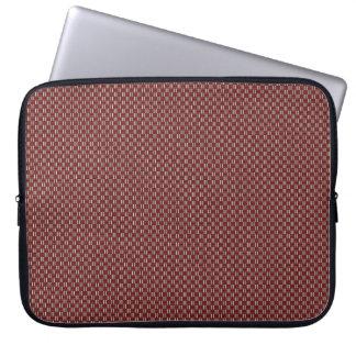 "Minimal Geometric Pattern - Osaka ""Cherry Blossom"" Computer Sleeve"