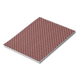 """Minimal Geometric Pattern - Osaka """"Cherry Blossom"""" Note Pad"""