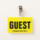 """[ Thumbnail: Minimal """"Guest"""" Badge ]"""