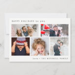 """Minimal Holiday Photo Collage 
