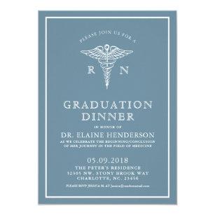 dinner graduation invitations zazzle