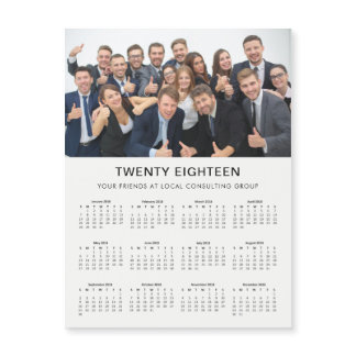 Minimal Modern | 2018 Company Photo Calendar