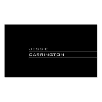 Minimal Modern Three Color 3A Business Cards