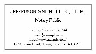 Notary public business cards zazzle minimal notary public business card reheart Gallery