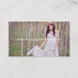 Minimal Overlay | Photography Business Cards