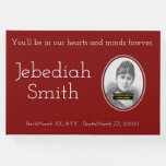 [ Thumbnail: Minimal & Personalized Memorial Guestbook ]