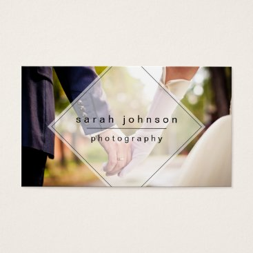 Professional Business Minimal Photographer Business Card
