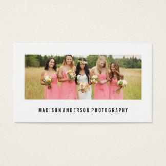 Minimal Portrait | Photography Business Cards