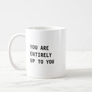 Minimal Positive Quote Mug